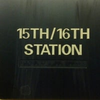 Photo taken at SEPTA MFL/TRL 15th Street Station by Christopher M. on 2/4/2013
