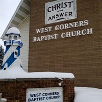 Photo taken at West Corners Baptist Church by Corey A. on 3/3/2014
