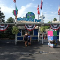 Photo taken at Worlds of Fun by Cristie B. on 7/17/2013