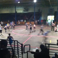 Photo taken at Roller Derby by Eric J. on 10/13/2012