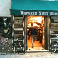 Photo taken at Varazze Surf Shop by Kelly S. on 11/2/2012