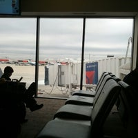 Photo taken at Gate D16 by Luke M. on 10/8/2012