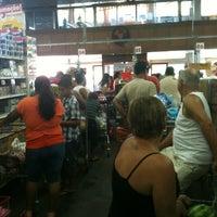 Photo taken at Supermercado Guanabara (Hiper) by Lisiane d. on 12/31/2012