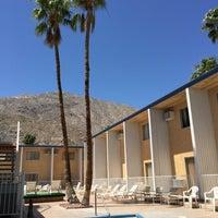 Photo taken at Cambridge Inn Palm Springs Hotel by Sasha K. on 4/18/2016