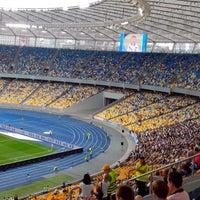 Photo taken at Olimpiyskiy Stadium by Olegk K. on 7/28/2013