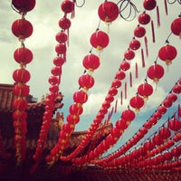 Photo taken at Thean Hou Temple (天后宫) by Gladys Y. on 1/1/2013