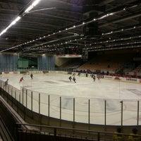 Photo taken at Halmstad Arena by Dmitri G. on 9/21/2014
