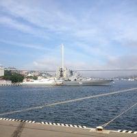 Photo taken at Вокзал Прибрежных Морских Сообщений by Aleksandr S. on 7/15/2013