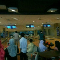 Photo taken at Unimas Bowling Alley by Roberta C. on 10/31/2014