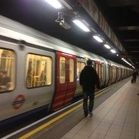 Photo taken at Euston Square London Underground Station by Adel B. on 1/4/2013