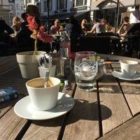Photo taken at Le Place D'Armes Café by Sherise V. on 10/16/2016