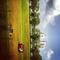Photo taken at mumbai university grounds by Aditi S. on 9/18/2012