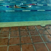 Photo taken at Escuela de Natación Don Bosco by Freddy R H. on 10/2/2012