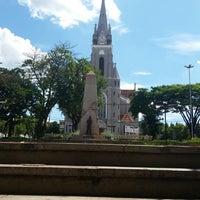 Photo taken at Praça Siqueira Campos (Jardim de Cima) by Nando N. on 2/1/2015