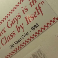 Photo taken at Five Guys by Kheila L. on 10/4/2012