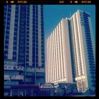 Photo taken at VEGA Izmailovo Hotel by Timur S. on 4/12/2013