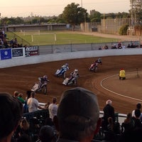 Photo taken at Costa Mesa Speedway by My A. on 6/15/2014