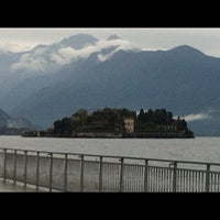 Photo taken at Lungolago di Stresa by Antonella D. on 9/29/2012