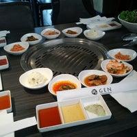 Photo taken at Gen Korean BBQ House by Kirari S. on 4/21/2013