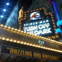 Photo taken at Spider-Man: Turn Off The Dark at the Foxwoods Theatre by Luis S. on 12/4/2012