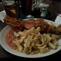 Photo taken at The Ashvale Fish and Chips by Adam M. on 10/13/2012