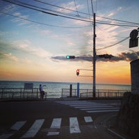 Photo taken at Inamuragasaki Beach by xxxxx703xxxxx n. on 9/17/2013