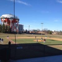 Photo taken at Joe Cannon Stadium by Richard S. on 3/15/2014