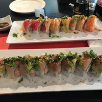 Photo taken at Sushi Kawa Sports Bar & Grill by Frank S. on 4/13/2017