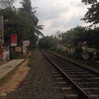 Photo taken at Bentota Railway Station by Asya V. on 3/21/2016