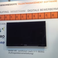 Photo taken at MHM HR - Stand A.04, Halle 6, Messe PERSONAL SÜD by Jannis B. on 4/23/2013