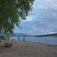 Photo taken at Waterfront Park by Jenson L. on 6/29/2016