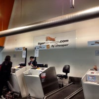 Photo taken at T4 (Domestic - Tiger Airways) Terminal by Jenson L. on 6/14/2013