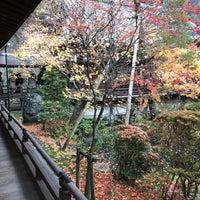 Photo taken at 永観堂 禅林寺 阿弥陀堂(本堂) by Jenson L. on 11/29/2017