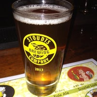 Photo taken at Stoudts Brewing Company by @njwineandbeer on 9/5/2013