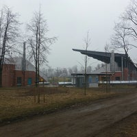 Photo taken at Stadion Miedź Legnica by Krzysztof D. on 3/31/2013