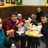Photo taken at Hot Diggity Dogs by Ana G. on 12/30/2014