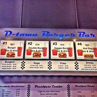 Photo taken at D-Town Burger Bar by San K. on 3/1/2014