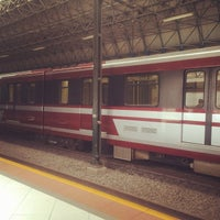 Photo taken at L1 Tren Ligero Estación Periférico Norte by Abner T. on 12/29/2013