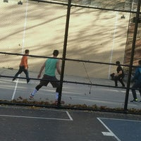 Photo taken at West 4th Street Courts (The Cage) by vanessa l. on 11/12/2016