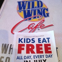 Photo taken at Wild Wing Cafe by James B. on 7/14/2013