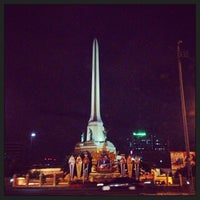 Photo taken at Victory Monument by Pattarachai T. on 3/11/2013