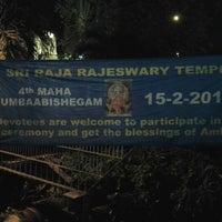 Photo taken at Sri Raja Rajeswary Temple by KitaVeg.com V. on 2/14/2013