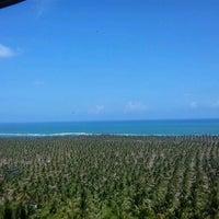Foto tirada no(a) Mirante da Praia do Gunga por Luciana S. em 1/4/2013