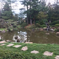Photo taken at Shofuso Japanese House and Garden by Chris R. on 4/12/2017