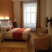 Photo taken at Hotel Rudolfo by Алёна К. on 2/3/2014