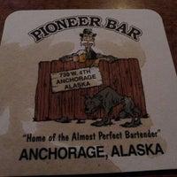 Photo taken at Pioneer Bar by Amanda K. on 3/22/2013