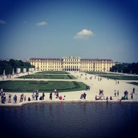Photo taken at Schonbrunn Palace by Olya on 5/9/2013