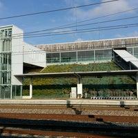 Photo taken at Gare SNCF de Lorraine TGV by Olya on 10/13/2016