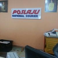 Photo taken at Pos Laju by Ridzuan A. on 9/28/2012