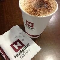 Photo taken at Hudsons Coffee by Alan T. on 1/6/2013